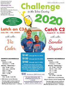 Flyer for Latch On C3A Week