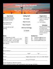 Flyer for West Coast A/C Fly-In