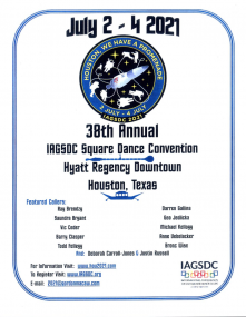 Flyer for IAGSDC Convention
