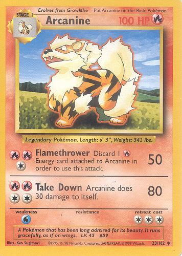 Arcanine (TCG) - Bulbapedia, the community-driven Pokémon ...