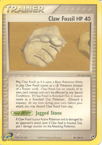 Root And Claw Fossil Pokemon Images   Pokemon Images