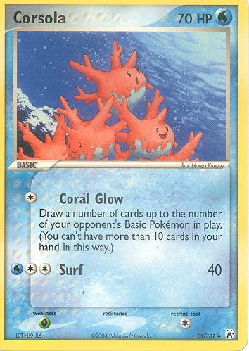 Corsola - (EX Hidden Legends)