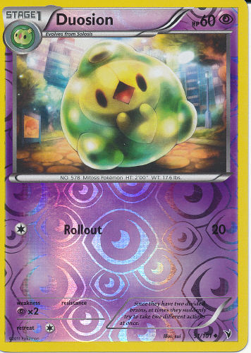 Duosion (Reverse Holo) - (Noble Victories)