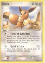 Eevee - (EX Sandstorm)