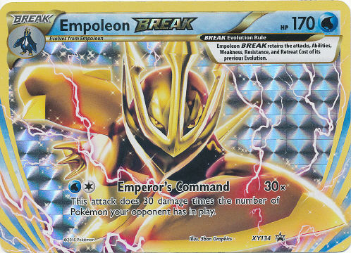 Empoleon BREAK - (XY Black Star Promos)