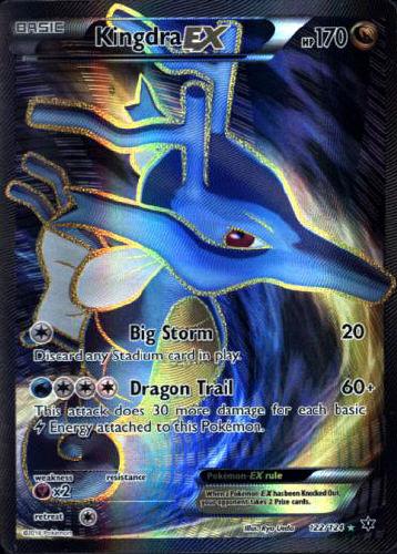 Kingdra EX (Full Art) - (Fates Collide)