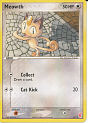 Meowth - (EX: Trainer Kit #2 (Red & Blue))