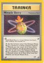 Miracle Berry (Pokémon Tool) - (Neo Genesis)