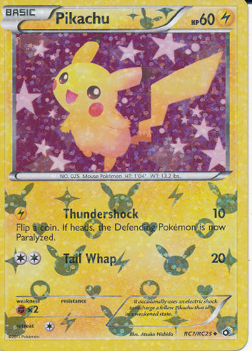 Pikachu (Radiant) - (Legendary Treasures (Radiant))