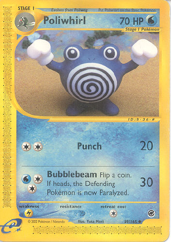 Poliwhirl - (Expedition)