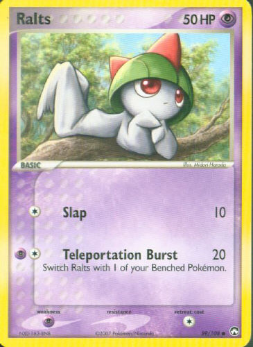 Ralts - (EX Power Keepers)