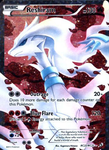 Reshiram Full Art - (Legendary Treasures (Radiant))
