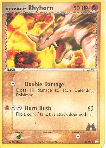 Team Magma's Rhyhorn - (EX Team Magma Versus Team Aqua)
