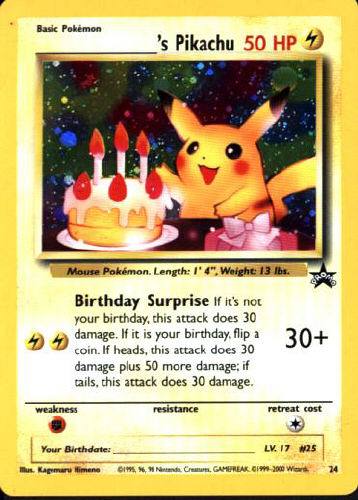 _______'s Pikachu - (Wizards Black Star Promo)