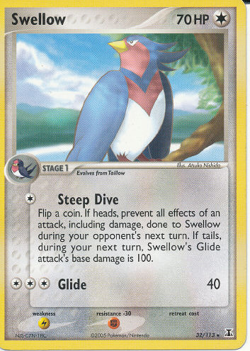 Swellow - (EX Delta Species)