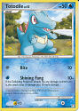 Totodile - (DP - Mysterious Treasures)