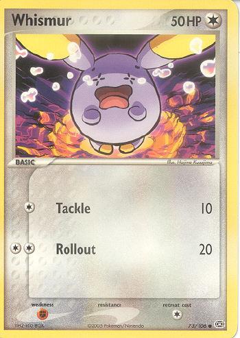 Character Whismur