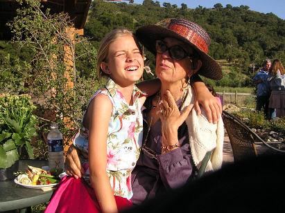 with Grandma Dana
