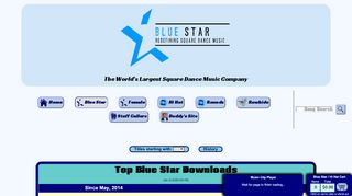 "Web site for ""Blue Star"""