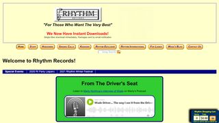 "Web site for ""Rhythm"""