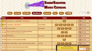 "Web site for ""Sharpshooter"""