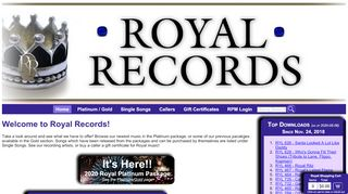 "Web site for ""Royal"""