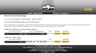 "Web site for ""Acme"""