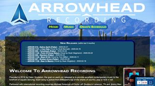 "Web site for ""Arrowhead"""