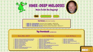 "Web site for ""Knee-Deep Melodies"""
