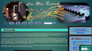 "Web site for ""Lou Mac"""