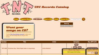 "Web site for ""TNT"""
