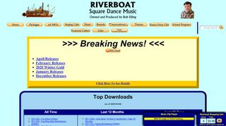 "Web site for ""Riverboat"""