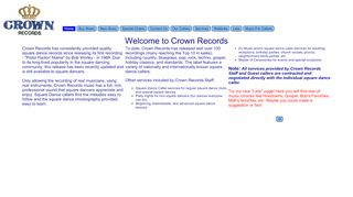 "Web site for ""Crown"""