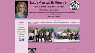 "Web site for ""Lottie Ainsworth"""