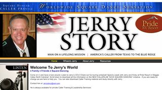 "Web site for ""Jerry Story"""