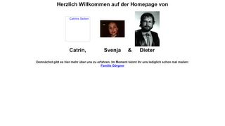 "Web site for ""Dieter Goergner"""