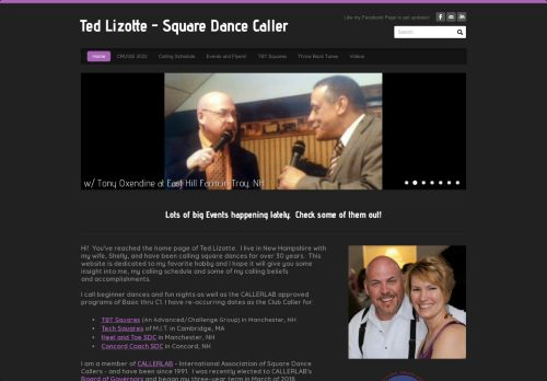 "Web site for ""Ted and Shelly Lizotte"""