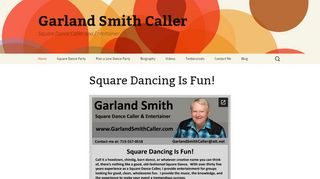 "Web site for ""Garland Smith"""