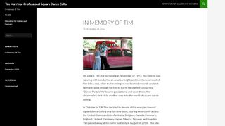 "Web site for ""Tim Marriner"""