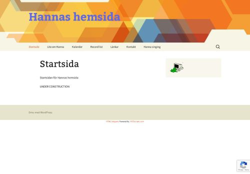 "Web site for ""Hanna Tenenbaum"""
