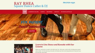"Web site for ""Ray Rhea"""