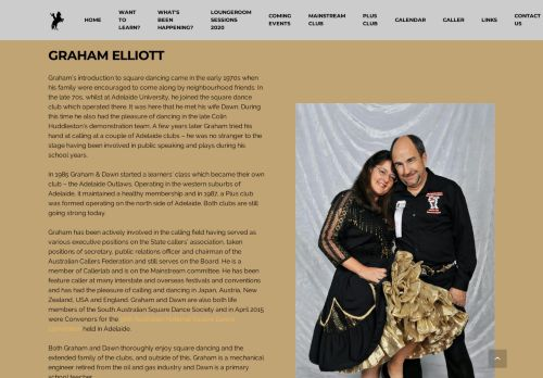"Web site for ""Graham Elliott"""