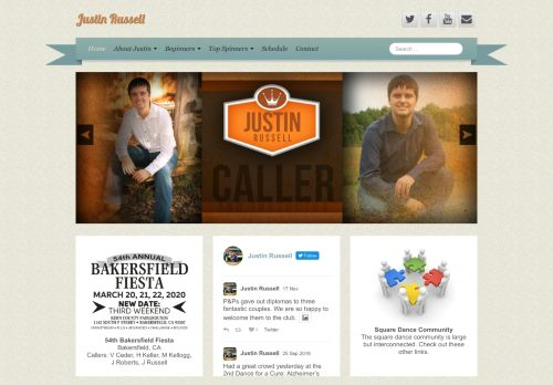 "Web site for ""Justin Russell"""