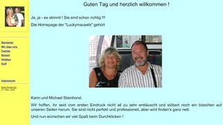 "Web site for ""Michael Steinhorst"""