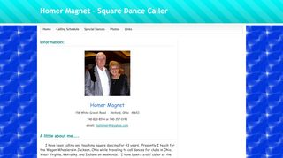 "Web site for ""Homer Magnet"""