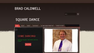 "Web site for ""Brad Caldwell"""