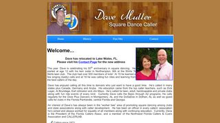 "Web site for ""Dave Muller"""