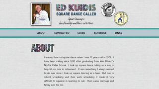 "Web site for ""Ed Kuidis"""