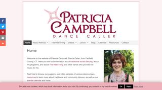 "Web site for ""Patricia Campbell"""