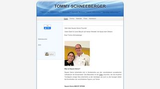 "Web site for ""Tommy Schneeberger"""
